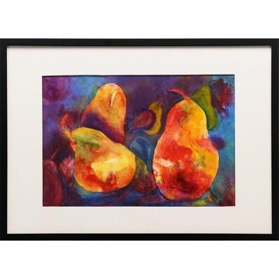 Pears No 2 -- Joan Frey