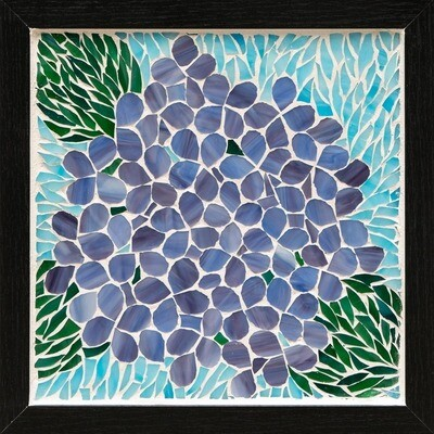 Purple Hydrangea -- Ginger Carter