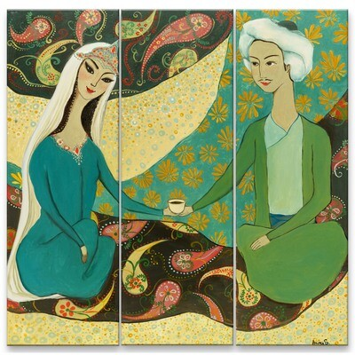 Tea -- Aziza Saliev
