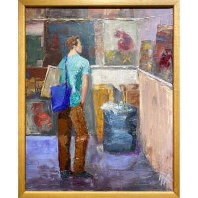 Art Student -- Irena Jablonski
