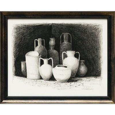 Mediterranean Pot Shop -- Nancy R Bradley