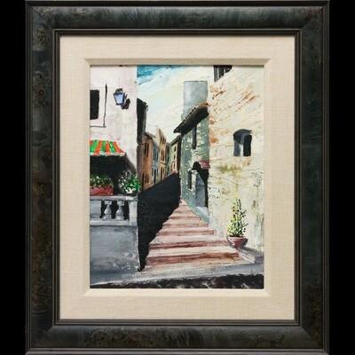 Street steps -- John cannon