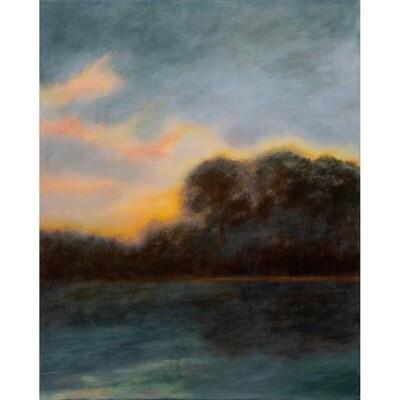 Serenity at Dawn -- Hilda Bordianu