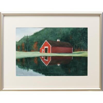New England Morning -- Nancy R Bradley