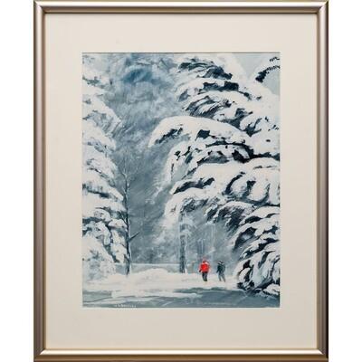 Snow Day -- Nancy R Bradley