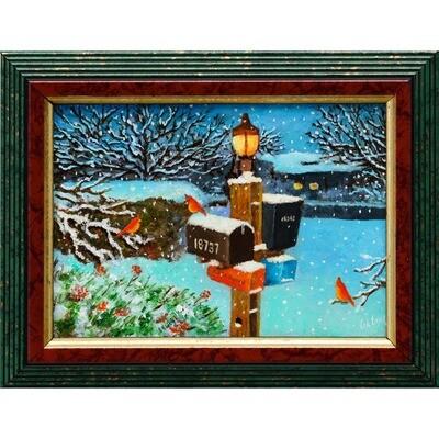 Winter Eve -- Leanna Leitzke