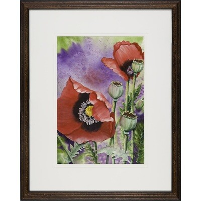Two Poppies -- Sandi McGuire