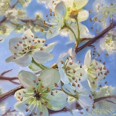 Plum Blossoms -- Karen Bakke