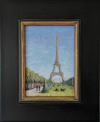 Champ de Mars, Paris -- Corina Linden