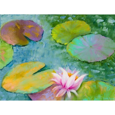 Lily Pads #3 -- Leah Rene Welch
