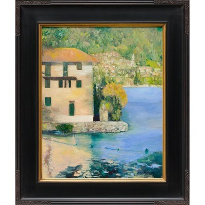 Lake Como Villa, on Road to Menton, France -- Patricia J Richardson