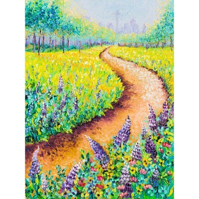 Blooming Lupine -- Kimberly Adams