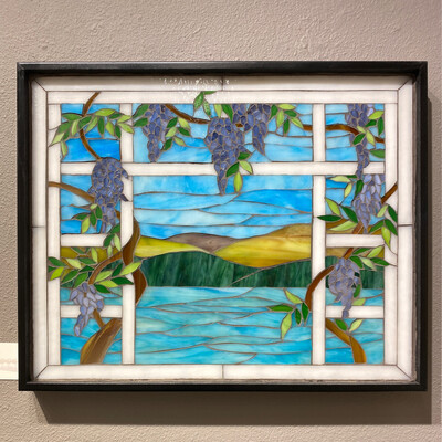 Wisteria View -- Ginger Carter