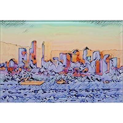 Cityscape -- Jean Burnett