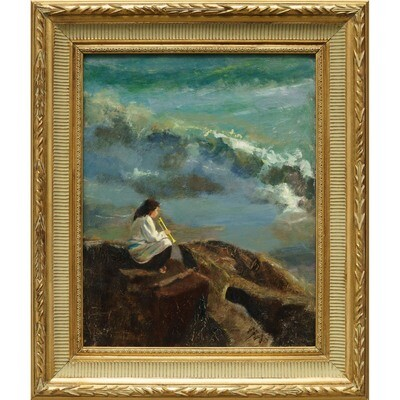 Her Trumpet and the Sea -- Irena Jablonski
