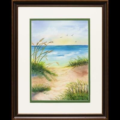 Serenity on the Beach -- Sandi McGuire