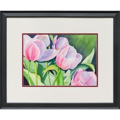 Pink Tulips -- Sandi McGuire