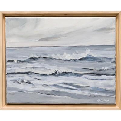 Waves of Pearl -- Arohika Verma