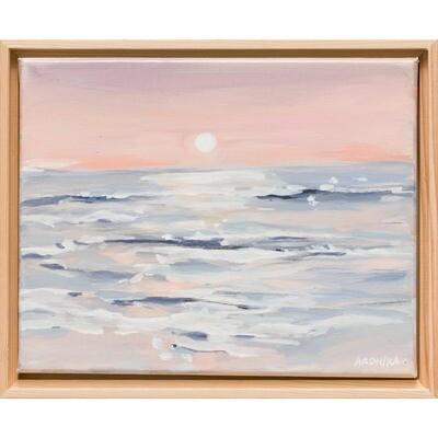 Glimmering Sunset -- Arohika Verma