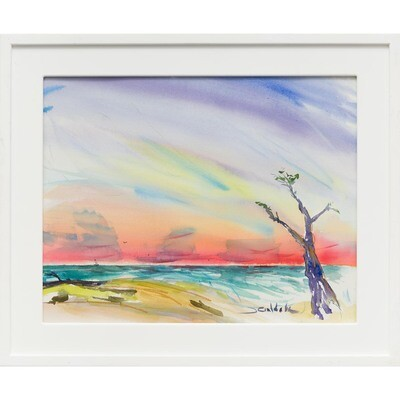 Sunset at the Beach -- Forrest Goldade