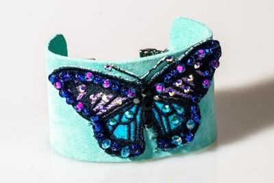 Butterfly Cuff -- Ellen Kenny