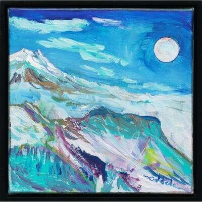 Moon Over Ridge -- Forrest Goldade