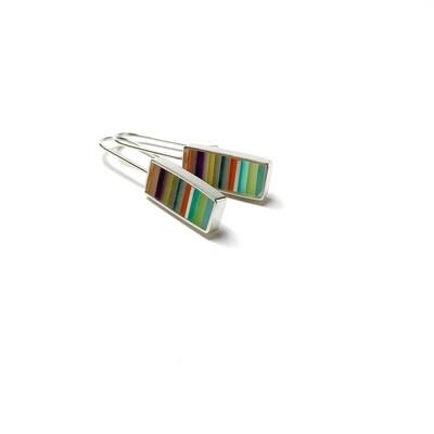 Barred Earrings -- Jennifer Graves