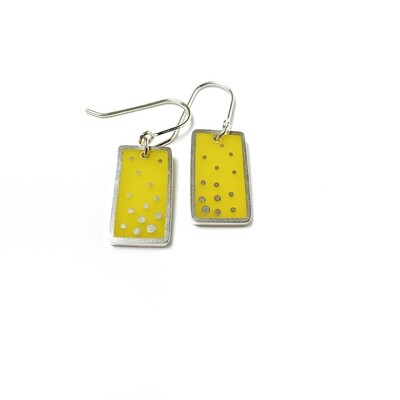 Dashed Earrings Yellow -- Jennifer Graves