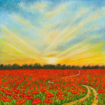 The Road To Sunset -- Leanna Leitzke