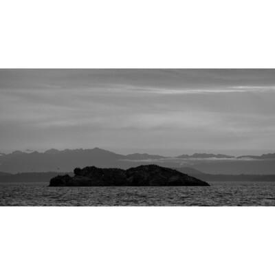 Puget Sound from Larrabee State Park -- Stephen Zapantis