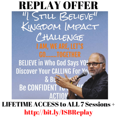 LIFETIME Access to All 7 Sessions and Breakthrough Sheets of the I Still Believe Challenge