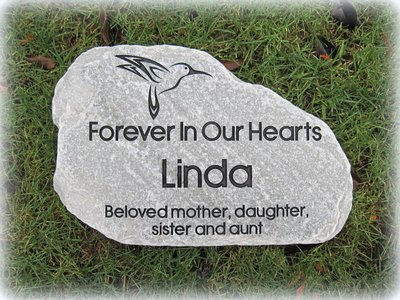 Personalized Engraved Stepping Stone - Mica