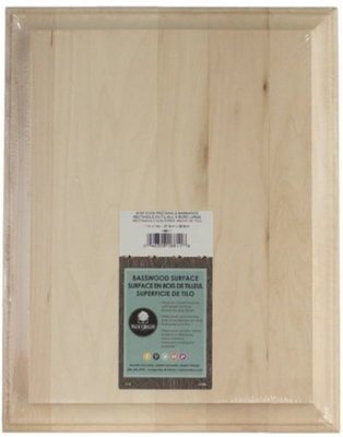 Wide Edge Basswood Rectangle - 11