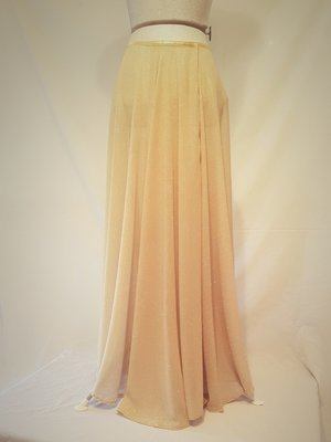 Playful Flowy Glitter Pole Skirt