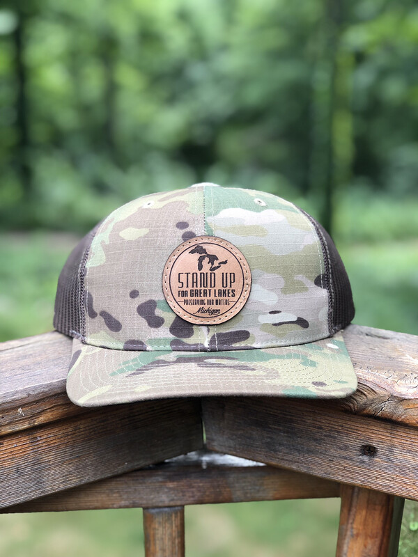 SUFGL Low Profile SnapBack Hat-Camo