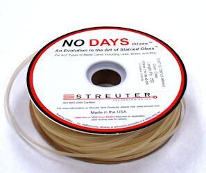 """NO Days Glaze, 9/64"""" Width, Clear, 100 Linear Ft"""