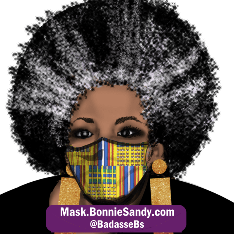 Afrique Royal Face Cover Mask