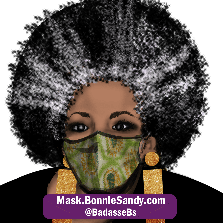 Limon Paisley Face Cover Mask