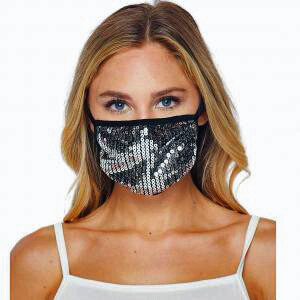 Sequin with Binding mask