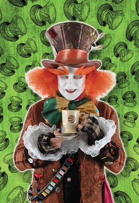 Madhatter with Hair
