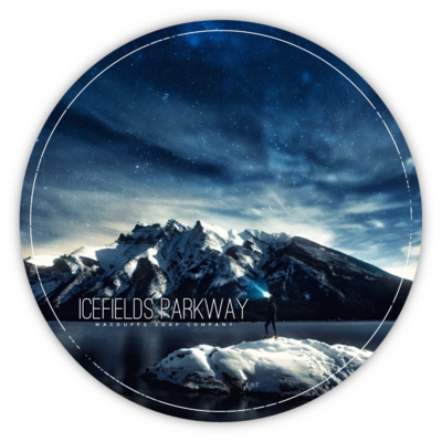 ICEFIELDS PARKWAY SHAVE SOAP (EO SCENT) (ETA NOVEMBER)