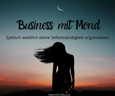 Business mit Mond
