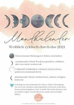 Wandkalender /Mondkalender