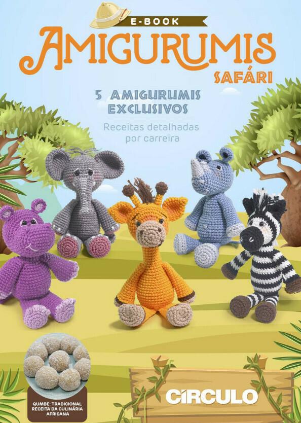 Revista Amigurumi - Especial Safari (Producto Digital)