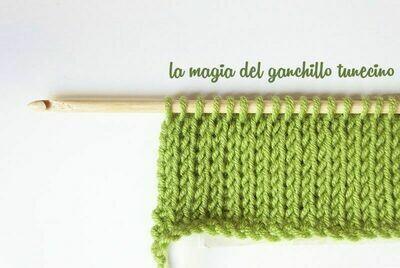 Aguja para punto/crochet Tunecino 6.0 mm