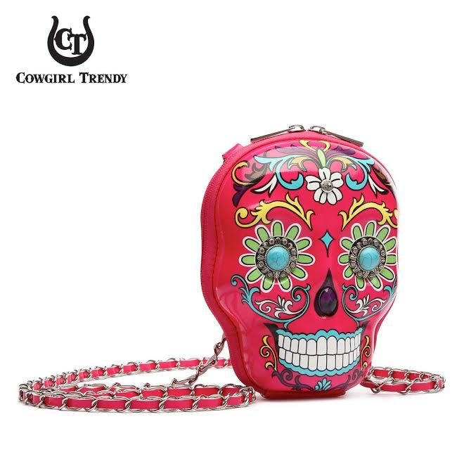 Sugar Skull Dimensional Purse