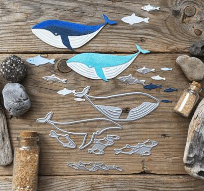 MIMICUT Metal Die Whale World