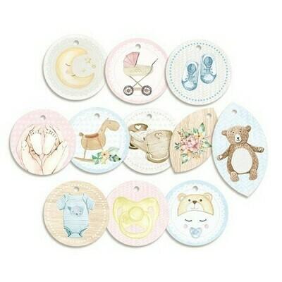 P13 Baby Joy Decorative tags 01 11 pcs