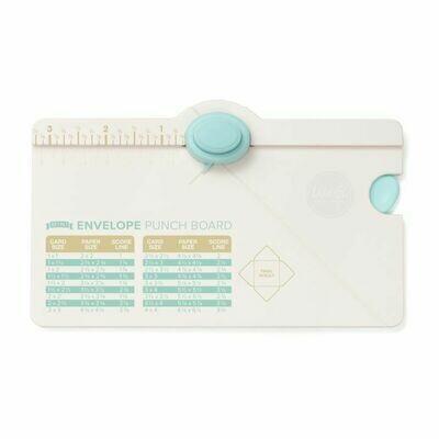 WER Mini Envelope Punch Board