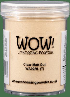 WOW Embossing Powder Clear Matt Dull WA02R-L 160 ml